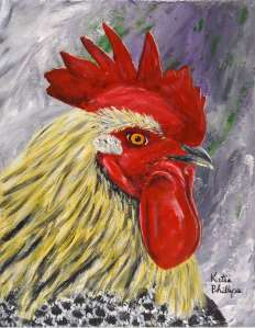 Brewster the Rooster Painting