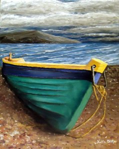 "boat painting ""weathered"""