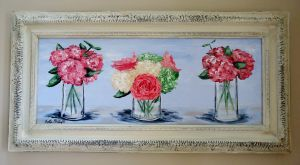 Southern Trio in vintage frame
