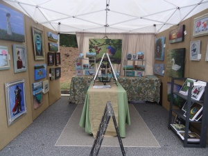 New display unveiled at the Sandy Springs Festival
