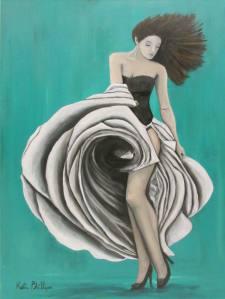 Dancing Flamenco Painting