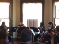 Performance by the Forsyth Youth Orchestra